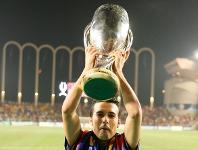Pedro solleva la Supercoppa Europea